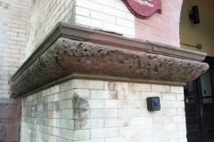 Architectural terracotta in need of repair/reproduction-Ridgewood Community School