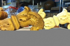original and freshly molded ornamental piece-Spartanburg Community College