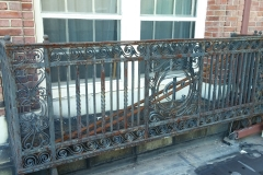 Tarratine, Bangor, Maine railing before-2