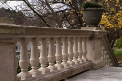 Wilton NH Public and Gregg Free Library after photo of the same section of balustrade shown in 1st picture_416x600